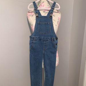 Like new! Zara denim kids overalls